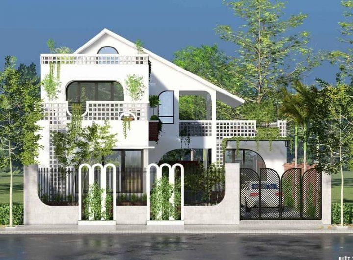 Biệt thự phố phong cách Indochine – Tô Vĩnh Diện, Bắc Ninh