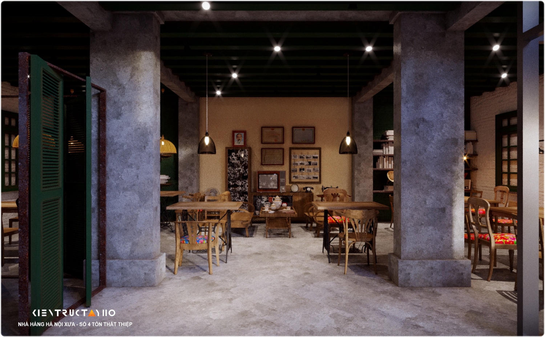 thiet-ke-nha-hang-phong-cach-bao-cap-Old-Hanoi-Restautant (5)